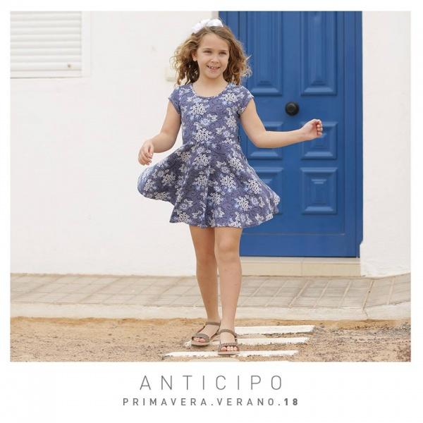 Vestido para nena primavera verano 2018 - Mimo co