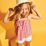 blusa a cuadros para nena verano 2018 Cheeky