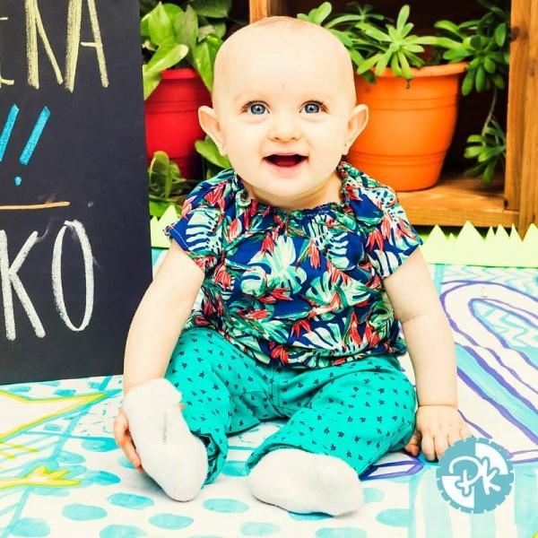 blusa estampa tropical niña Pako Peko primavera verano 2018