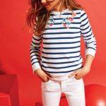 buzo bordado y jeans para nena verano 2018 Cheeky