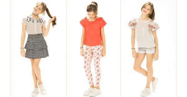 faldas vestido y short niñas verano 2018 Nucleo Nenas