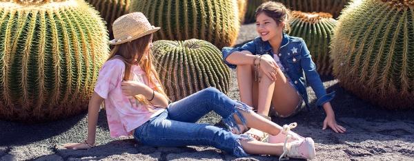 jeans para nenas primavera verano 2018 - Mimo co