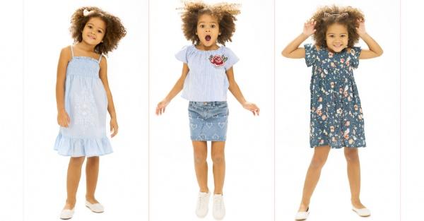 moda para niñas verano 2018 Nucleo Nenas