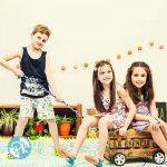 musculosas y short niños Pako Peko primavera verano 2018 1