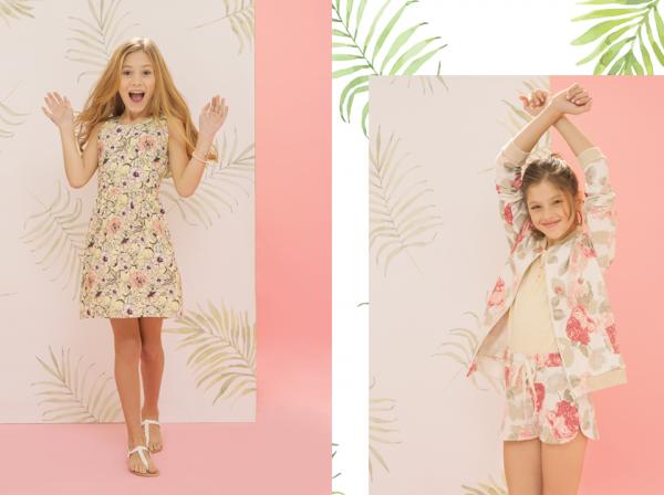 ropa para nena verano 2018 Nucleo Nenas
