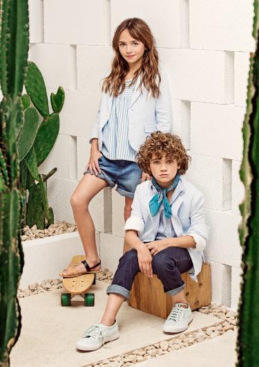 saco camisa y jeans para chicos verano 2018 Paula Cahen D Anvers Niños