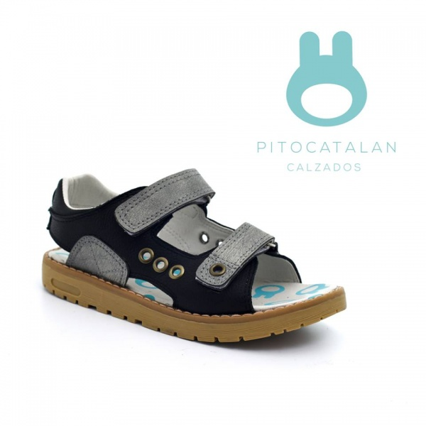 sandalia con suela de goma varon Pitocatalan calzado para chicos primavera verano 2018