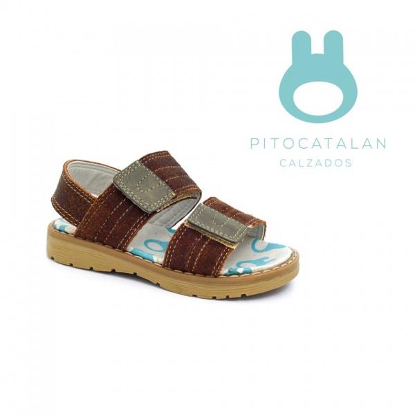 sandalias con abrojo niño Pitocatalan calzado para chicos primavera verano 2018