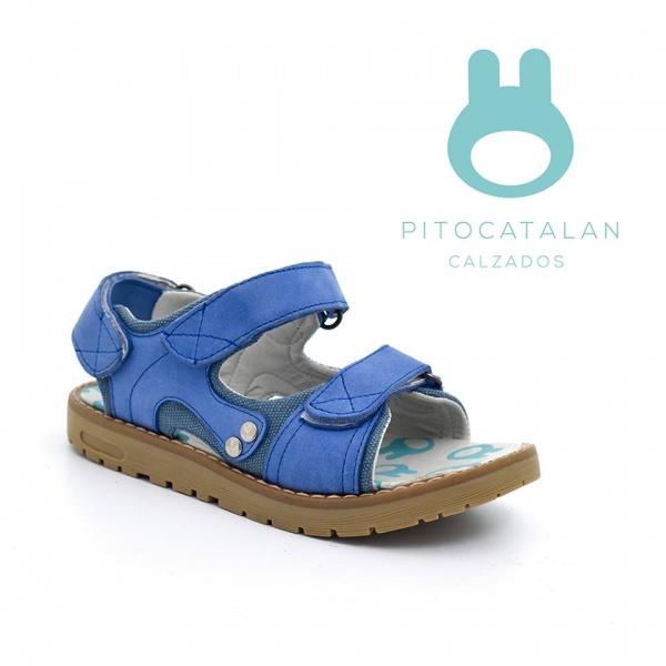 sandalias con abrojos varon Pitocatalan calzado para chicos primavera verano 2018