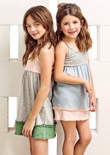vestido informal para nenas verano 2018 Paula Cahen D Anvers Niños