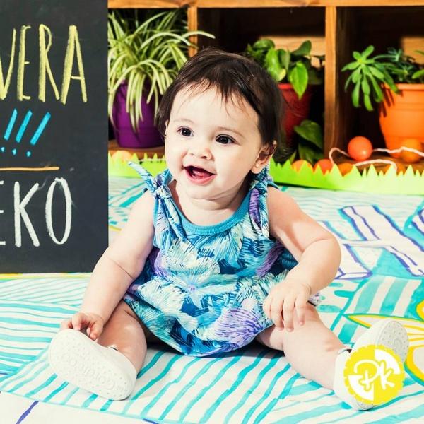 vestidos de jersey de algodon niña Pako Peko primavera verano 2018