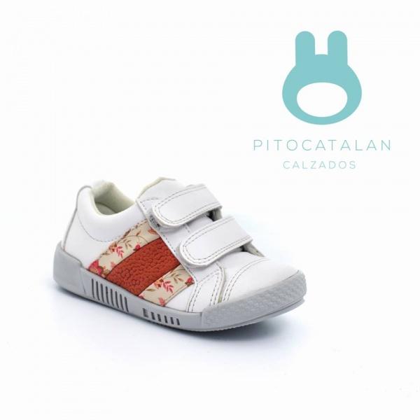 zapatilla con abrojos Pitocatalan calzado para chicos primavera verano 2018
