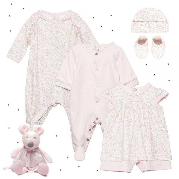 1f1ce163c conjunto para beba con estampado floral rosa Broer verano 2018