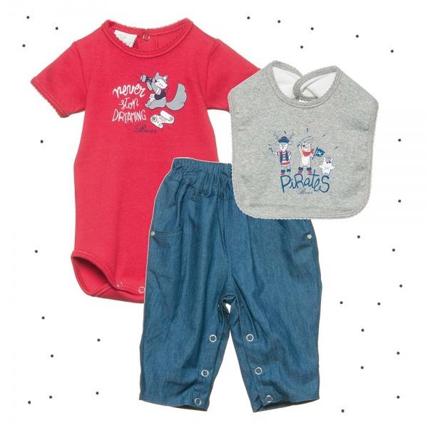 Pantalon Con Broches Para Bebes Broer Verano 2018 Minilook