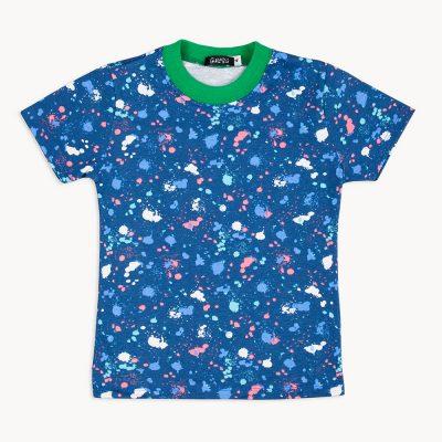 remera para niño con estampa colorida gulubu primavera verano 2018