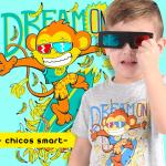 Pecosos – Remeras interativas para chicos verano 2018