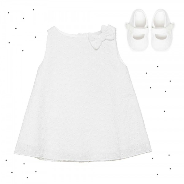 vestido blanco beba Broer verano 2018
