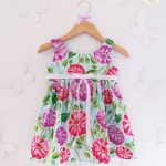 vestido floreado casual para nena Girls Boutique verano 2018