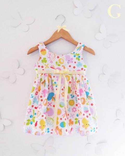 vestidos casual estampados para niñas Girls Boutique verano 2018