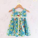 Girls boutique – Vestidos estampados para nenas primavera verano 2018