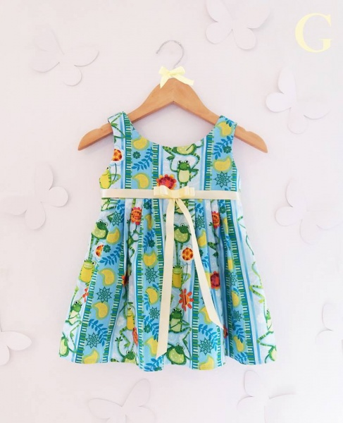 vestidos con estampas divertidas para nenas Girls Boutique verano 2018
