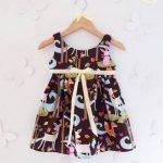 vestidos de algodon estampado para niñas Girls Boutique verano 2018
