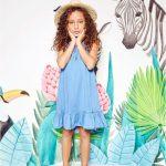 vestidos para nenas denim Kosiuko primavera verano 2018