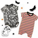 body bebe hallowen Grisino ropa infantil verano 2018