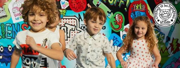 moda para niños Grisino ropa infantil verano 2018