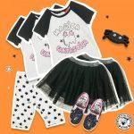 pollera tul nena Grisino ropa infantil verano 2018