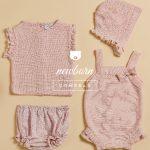 tejido a crochet para bebe verano 2018 PIOPPA