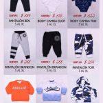camisa body y pantalones para bebe abellie otoño invierno 2018