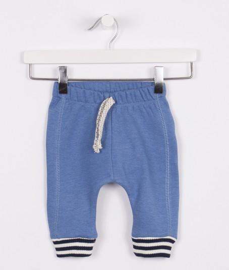 pantalon jogging con frisa y puño bebe minimimo otoño invierno 2018