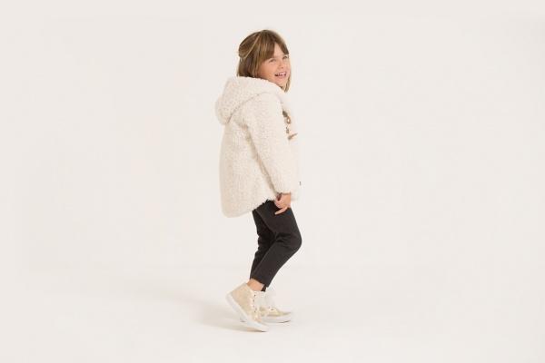 abrigo para nena otoño invierno 2018