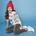 buzo algodon floreada niña cheeky otoño invierno 2018