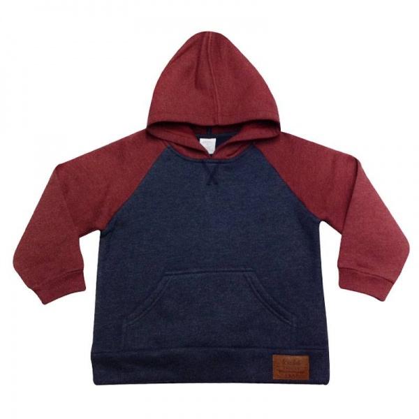 buzo frisa con capucha y bolsillo canguro ruabel otoño invierno 2018