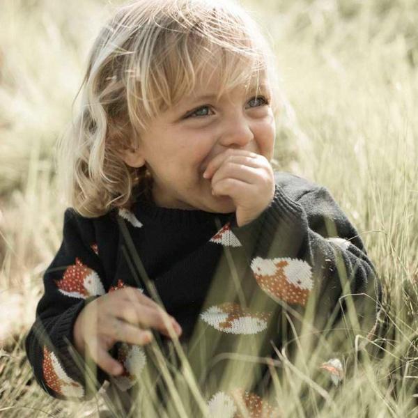 buzo lana tejido niño Pioppa otoño invierno 2018