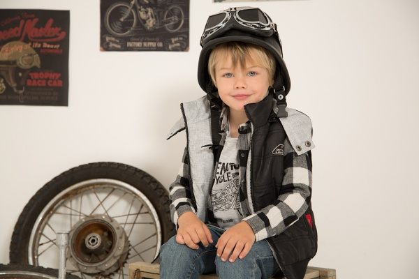 camisa a cuadros y chalecos para nene mimo co otoño invierno 2018