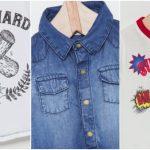 camisas de jeans y remeras mangas largas niños wanama boys girls otoño invierno 2018