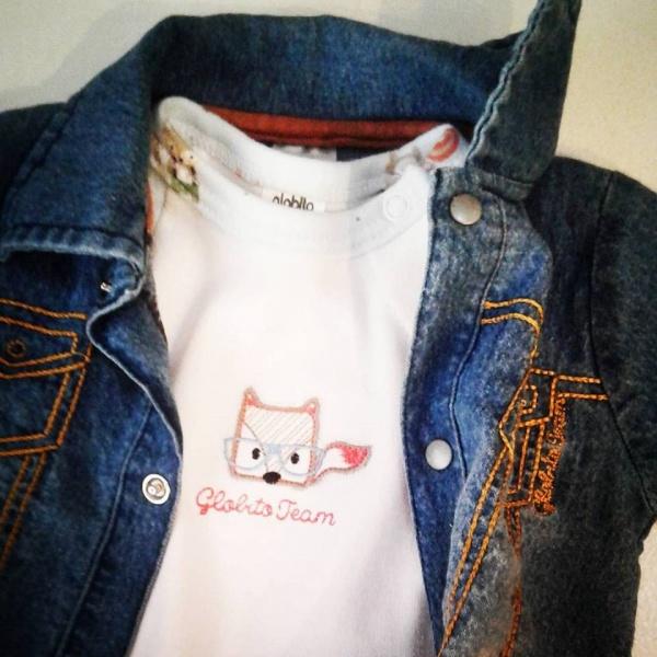 campera jeans bebes Globito team otoño invierno 2018