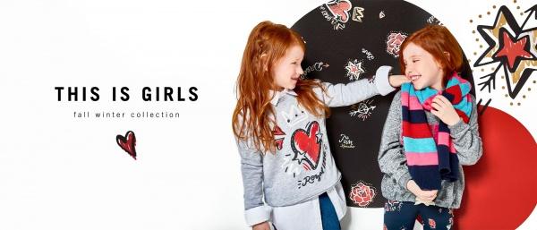 ae8cc043a Ropa para nenas kosiuko kids otoño invierno 2018
