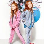 conjuntos de joggings plush niña kosiuko kids otoño invierno 2018