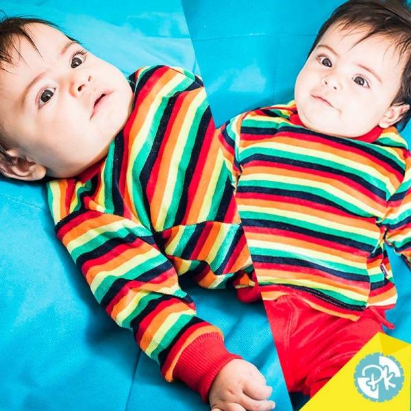 conjuntos de plush bebes Pako peko otoño invierno 2018