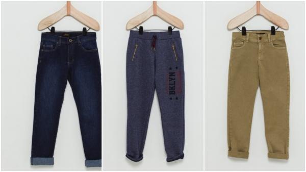pantalones niños jeans algodon corderoy wanama boys girls otoño invierno 2018
