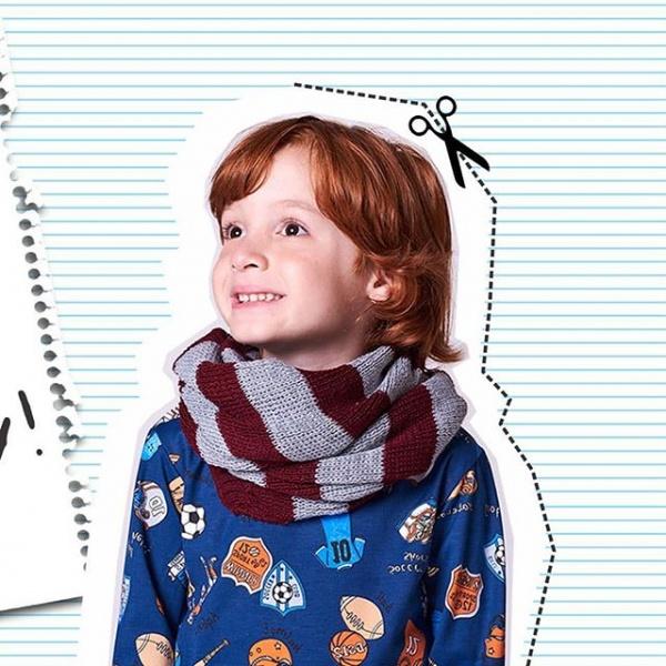 remeras estampadas mangas largas niños Babu otoño invierno 2018