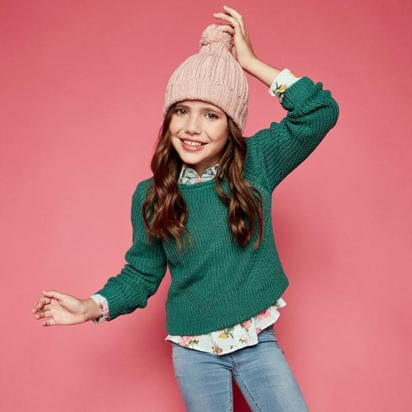 sweater tejido niña cheeky otoño invierno 2018