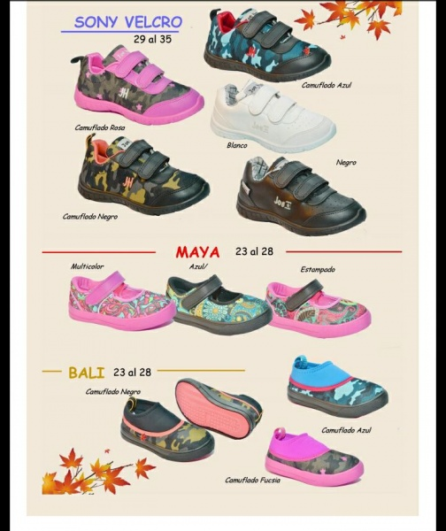 zapatillas con velcro para niños Joe Hopi otoño invierno 2018