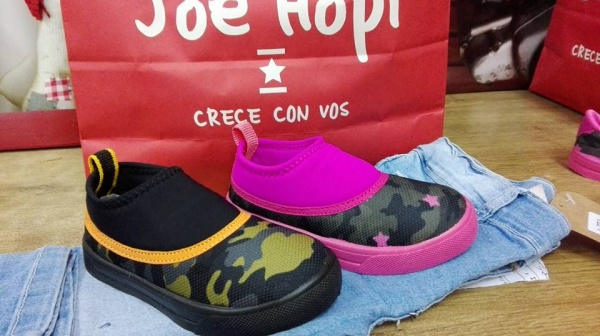 3be9cf63f zapatillas neopreno para niños JOe hopy otoño invierno 2018