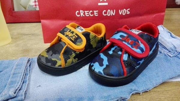 zapatillas niños camufladas joe hopi otoño invierno 2018