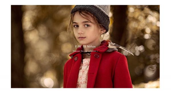 Tapado para niña rojo Paula cahen danvers invierno 2018